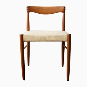 Chaise en Teck par H.W. Klein pour Bramin, 1960s