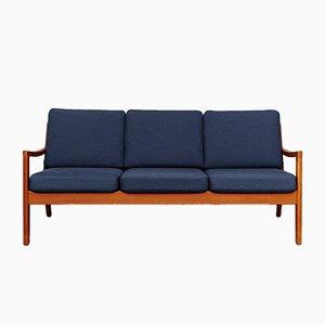 Mid-Century Senator Teak Sofa by Ole Wanscher for Peter Jeppesen