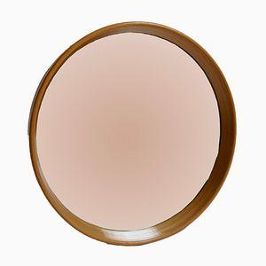 Vintage Bentwood Circular Mirror