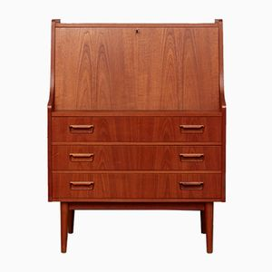 Mid-Century Secretary by Gunnar Nielsen Tibergaard for Nielsen Furniture Factory