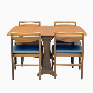 Dining Table & Chair Set from G-Plan & McIntosh, 1960s