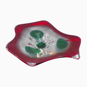 Schale aus Murano Glas, 1960er