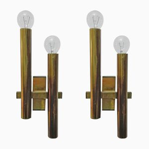 Sconces by Gaetano Sciolari, 1960s, Set of 2