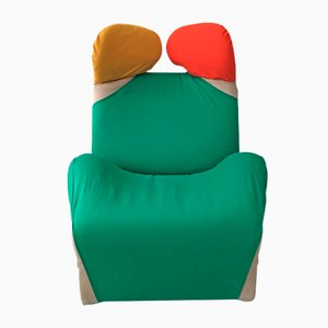 Wink Chair by Kita Toshiyuki for Cassina, 1970s