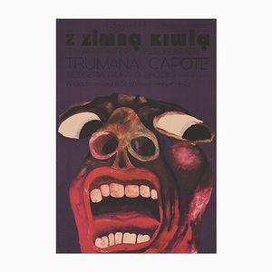 Affiche du Film In Cold Blood Vintage par Andrzej Bertrandt pour CWF, Pologne, 1971