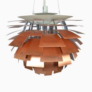 PH Artichoke Lampe aus Kupfer von Poul Henningsen für Louis Poulsen, 1950er