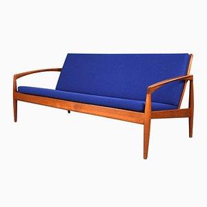 Sofa des Modells Paperknife mit 3 Sitzen von Kai Kristiansen für Magnus Olesen, 1960er