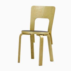Chaise Modèle 66 Vintage par Alvar Aalto pour Artek