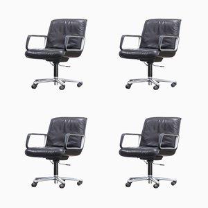 Chaises de Bureau Série Delta de Wilkhahn, 1970s, Set de 4