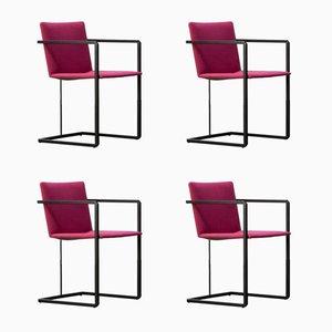 Niederländische Vintage Stühle von Hennie de Jong für Castelijn, 1970er, 4er Set