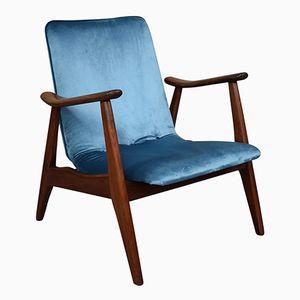 Lounge Chairs by Louis Van Teeffelen for WéBé, 1960s, Set of 2