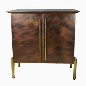 Vintage Bar Cabinet in Copper and Brass from Belgo Chrom