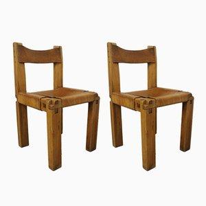 S11 Stühle von Pierre Chapo für Selz, 1960er, 2er Set
