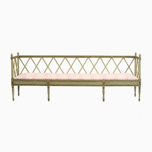 Gustavian Swedish Bench, 1890s