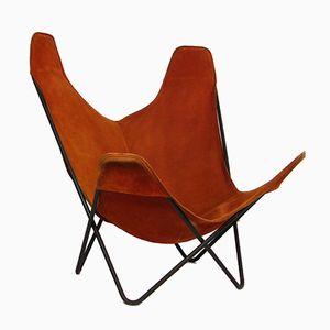 Vintage Hardoy Stuhl oder Butterfly Stuhl von Jorge Hardoy-Ferrari