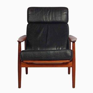 Vintage FD 164 Stuhl von Arne Vodder für France & Son
