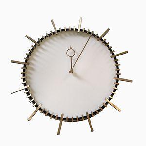 Horloge Murales Vintage par Boselli, Italie, 1950s
