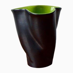 Vintage Vase von Fernand Elchinger