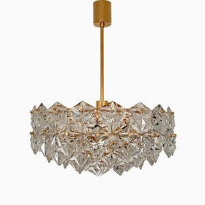 Large Gilded Chandelier from Kinkeldey, 1960s