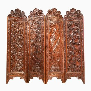 Art Nouveau French Room Divider