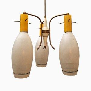 Italian Murano Glass Chandelier from Laguna Murano, 1960s