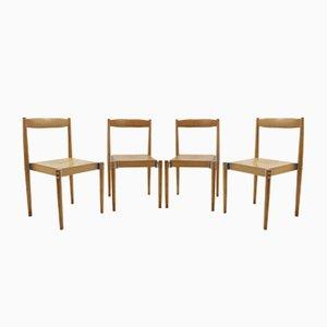 Vintage Chairs by Miroslav Navrátil, 1960s, Set of 4