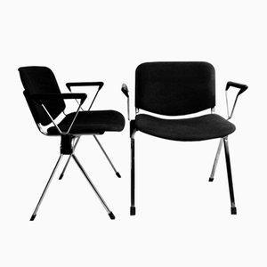 Stühle von Lübke, 1970er, 2er Set