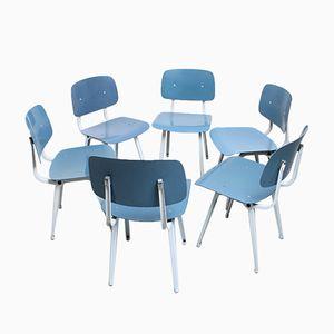 Vintage Revolt Chairs by Friso Kramer for Ahrend De Cirkel, Set of 6