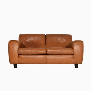 Fatboy Two-Seater Leather Sofa from Molinari, 1980s
