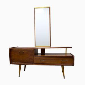 Vintage Danish Asymmetric Dressing Table, 1960s