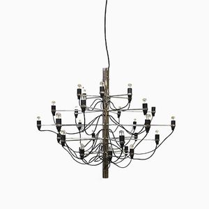 Vintage Chandelier by Gino Sarfatti for Flos