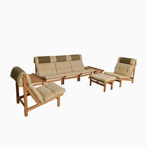 Vintage Danish Complete Lounge Set by Bernt Petersen, 1969