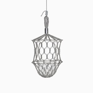Lucille Bold Grey Flower Cocoon by LLOT LLOV