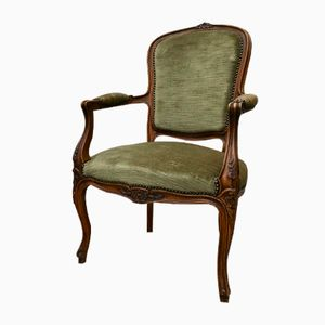 Vintage French Louis XVI Style Wooden Chair