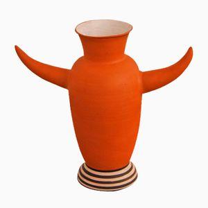 Austrian Ceramic Vase by Antonio Al Rahal, 1995
