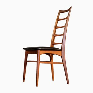 Lis Model Dining Chairs by Niels Koefoed for Hornslet Møbelfabrik, 1960s, Set of 6