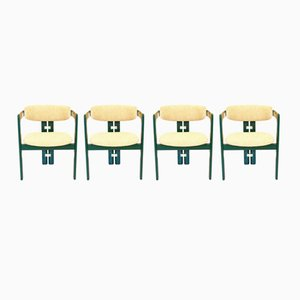 Chaises de Salon par Augusto Savini pour Pozzi, 1960s, Italie, Set de 4
