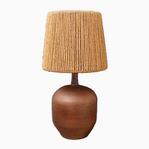 Französische Vintage Keramik Lampe von Pierre Digan, 1970er