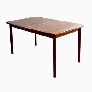 Tavolo da pranzo allungabile in palissandro di ABJ, anni '60