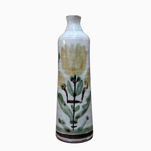 Vintage Ceramic Flower Vase by Gustave Reynaud