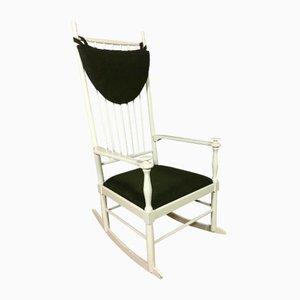 Rocking Chair Scandinave Vintage par Karl Axel Adolfsson pour Gemla