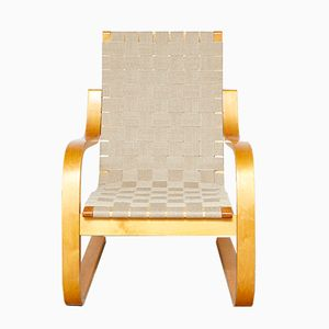 Vintage 406 Lounge Chair by Alvar Aalto for Artek, 1930s