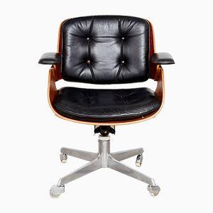 Chaise de Bureau D49 Vintage par Hans Könecke pour Tecta, 1950s