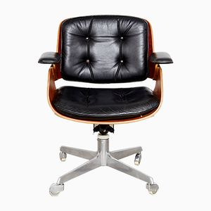 Vintage D49 Office Chair by Hans Könecke for Tecta, 1950s