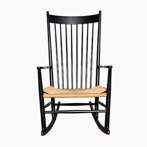 Rocking Chair J16 par Hans Wegner pour FDB Møbler, 1944