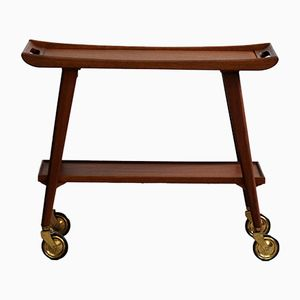 Mid-Century Teak Bar Trolley, 1960s