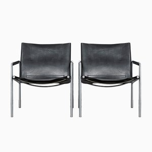 SZ02 Easy Chairs by Martin Visser for 't Spectrum, 1965, Set of 2