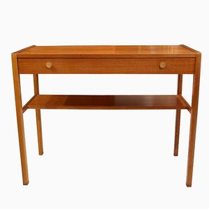 Table Console en Teck, Danemark, 1960s
