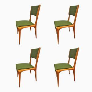 Stühle von Carlo de Carli für Cassina, 1950er, 4er Set