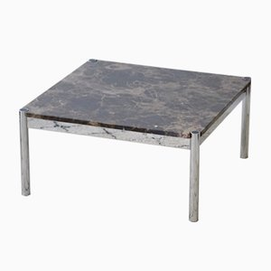 Vintage Coffee Table with Marble Top from USM Haller